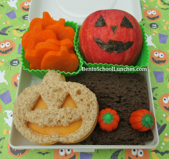 Halloween Jack-o-Lantern, pumpkin patch lunch