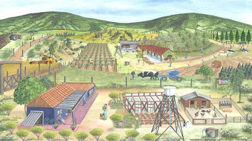 DIBUJO ARQUITECTNICO I Caractersticas de la vida Rural y Urbana