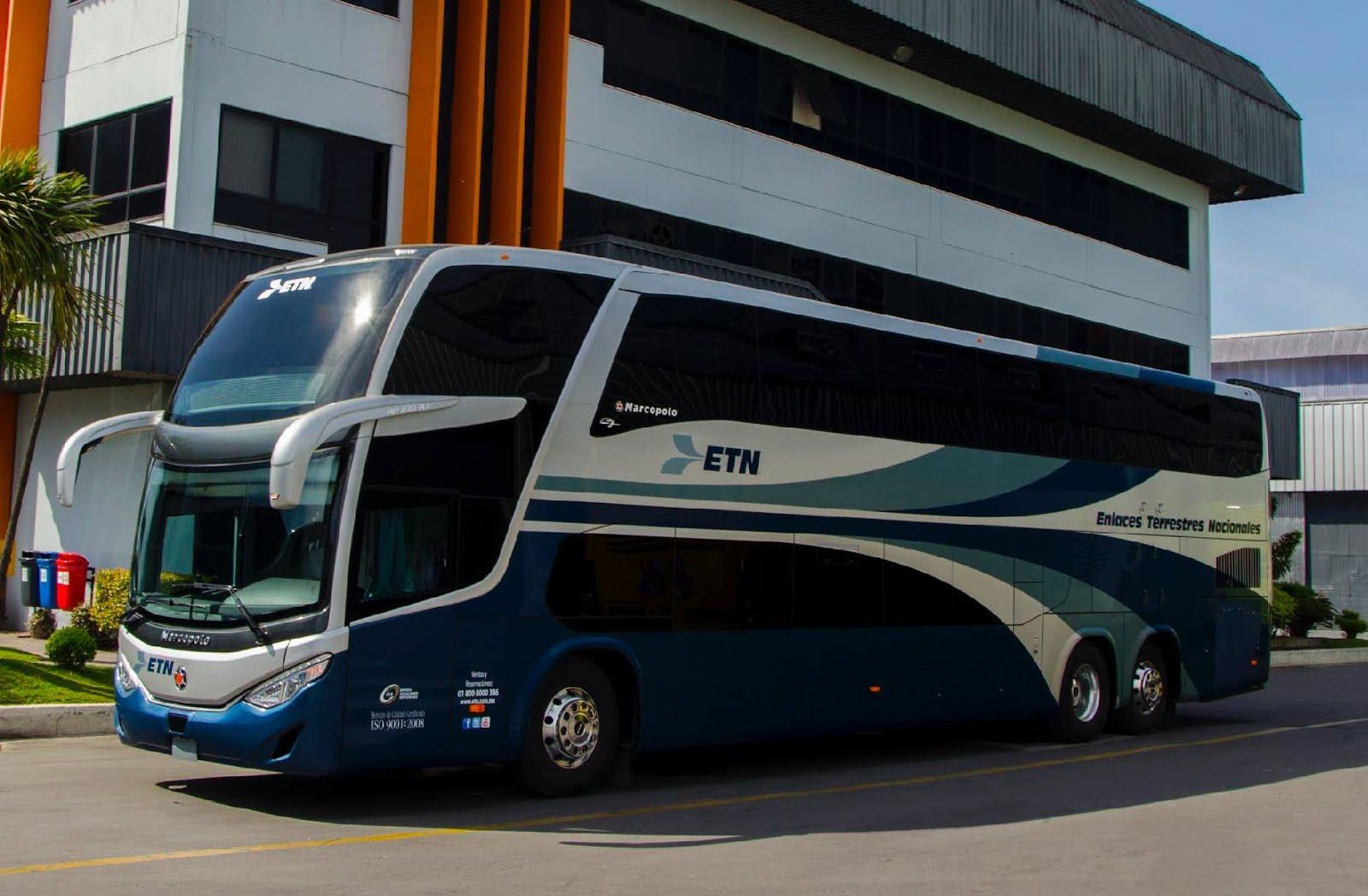 Gu a del viajero en m xico marcopolo desarrolla exclusivos autobuses de dos pisos para iamsa - Autobuses de dos pisos ...