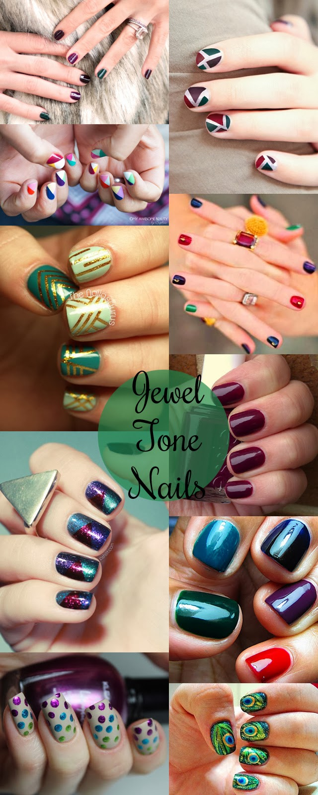 Sincerely, Sara | Style & Books: Inspiration: Jewel Tone Nails + ...
