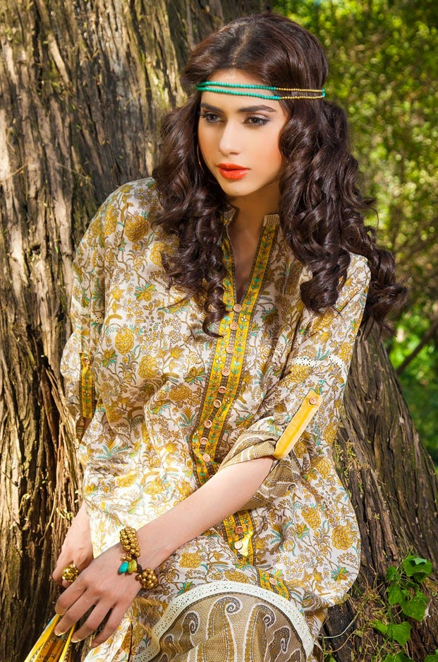 Khaadi Spring Summer Collection 2014 Khaadi Spring-summer Lawn 2014