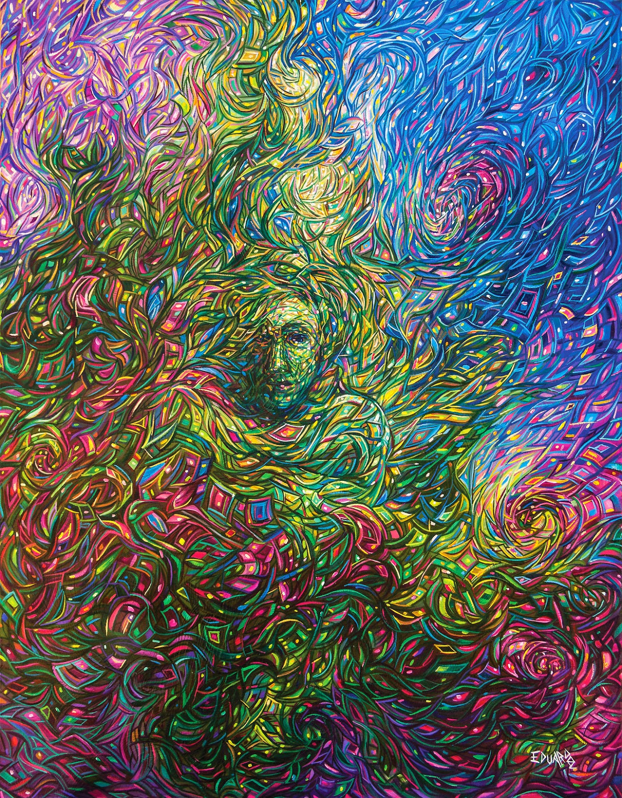15-States-of-Consciousness-Eduardo-R-Calzado-Paintings-in-Swirls-of-Colour-www-designstack-co