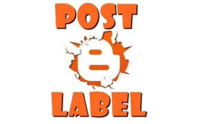 menyembunyikan label posting blog