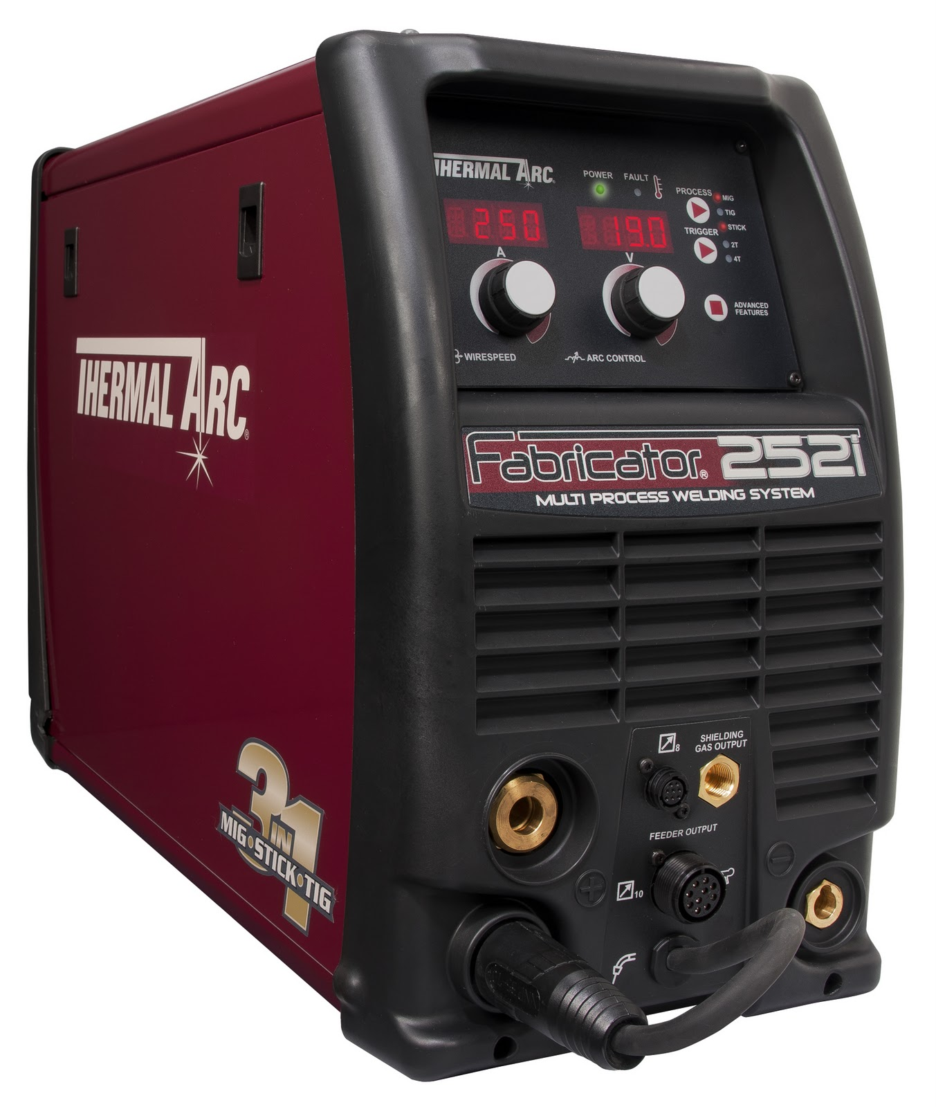 "Twin News: Thermal Arc's Fabricator 252i ""3-in-1"" MIG-Stick ..."