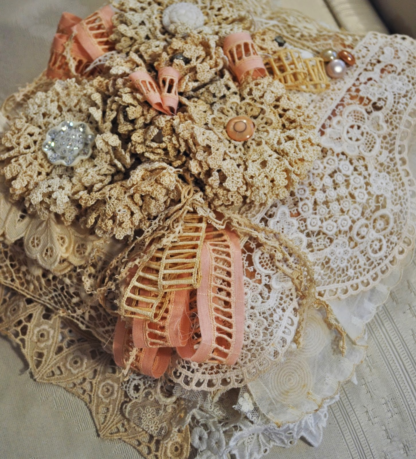 Doni's gorgeous Lace Book