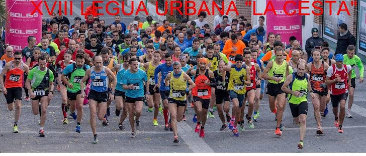 """XVIII LEGUA URBANA """"LA CESTA 2017"""""""
