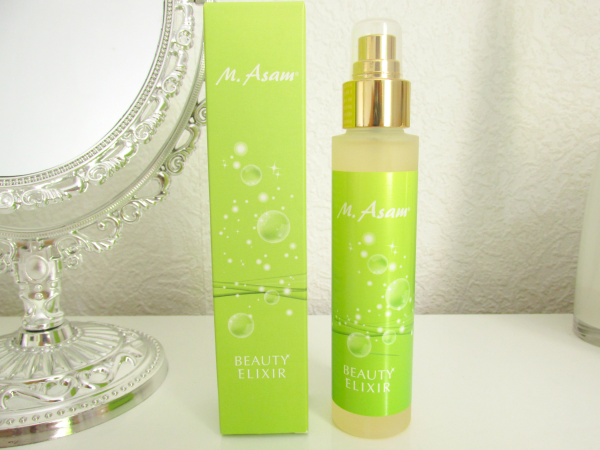 M. Asam Vino Gold Beauty Elixir Makeup Setting Spray Ingredients