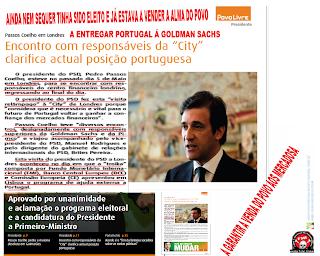 """presidente do PSD fez """"visita relâmpago"""" à """"City"""" de Londres,  Goldman Sachs, Mafia, PSD, Portugal, Assassinos Económicos da Goldman Sachs, vender a alma dos portuguese"""