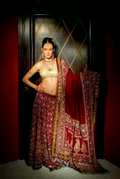 SHYAMAL & BHUMIKA Designer Lehnga Collection 2014