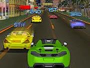 لعبة سيارات سباق التحدي