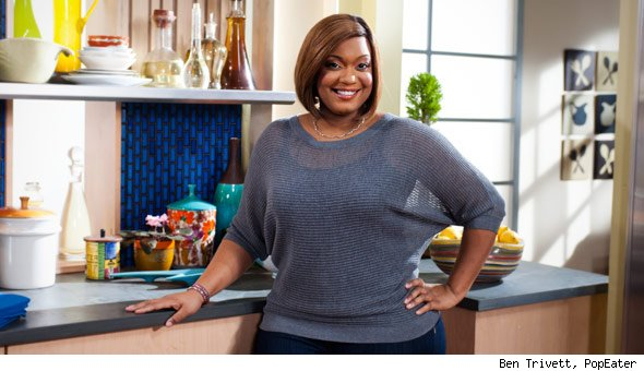 Sunny Anderson food network gossip: home made in america with sunny anderson to