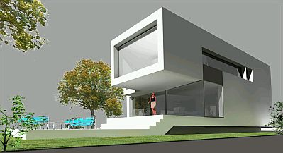 Banco de imagenes y fotos gratis fotos de casas modernas for Casa moderna 6 parte 2