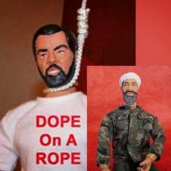Sadam Hussein y Osama Bin Laden