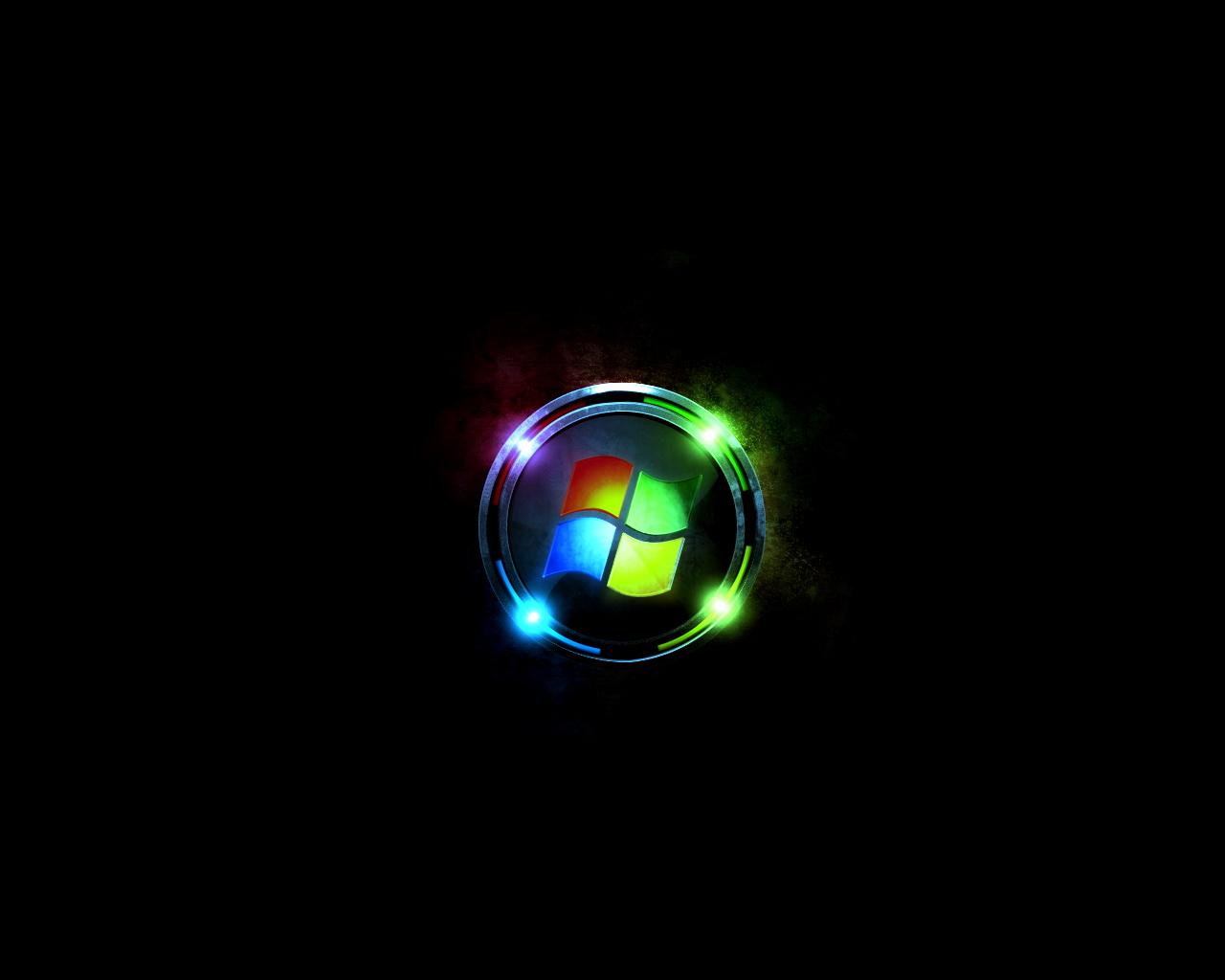 HD Wallpaper Art: HD Windows 7 wallpaper ( Pack-100+ W7 logo )