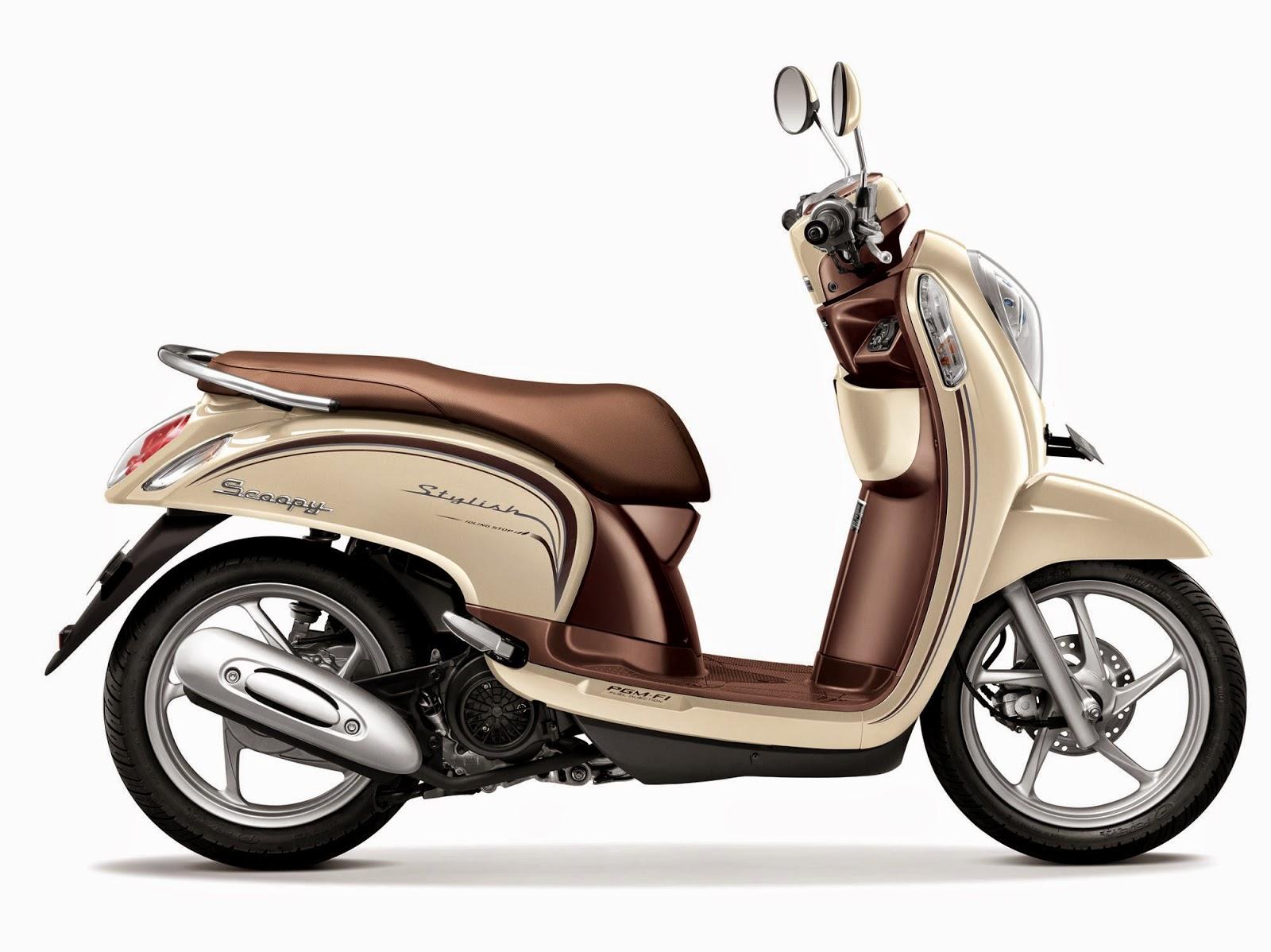Pilihan Warna New Honda Scoopy eSP ACG ISS - Oprek Motor