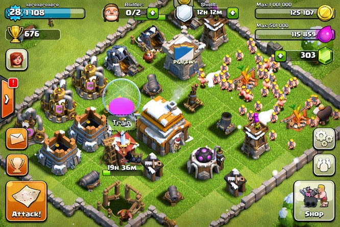 Clash of clans layout base