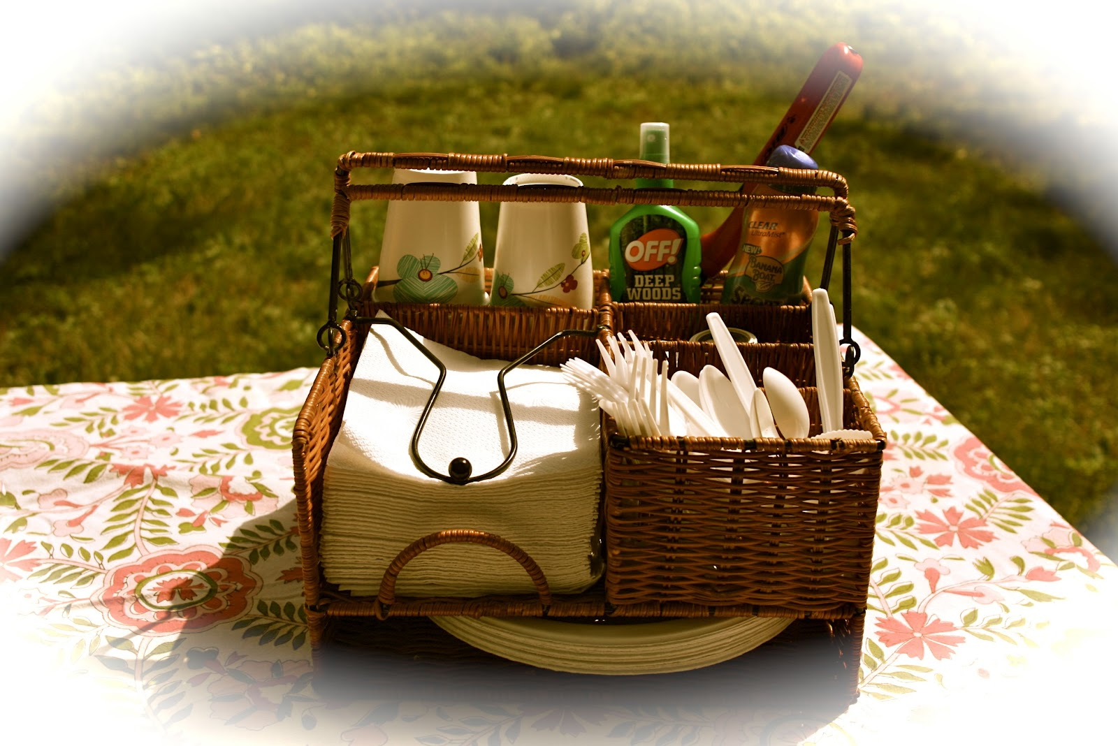 Simple Organizing: Picnic in a Basket | Simple Living and Eating ...