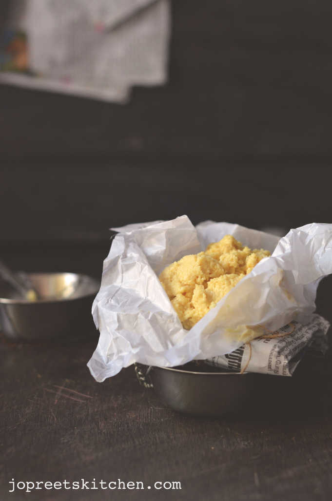 How To Make Plain Khoya Khoa Mawa Milk Solids