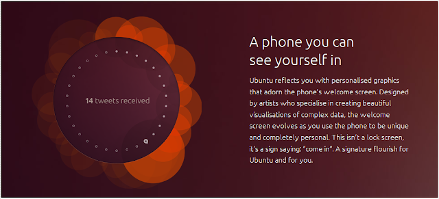 Ubuntu Smartphone Home Screen