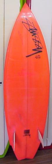 vintage stussy surfboard