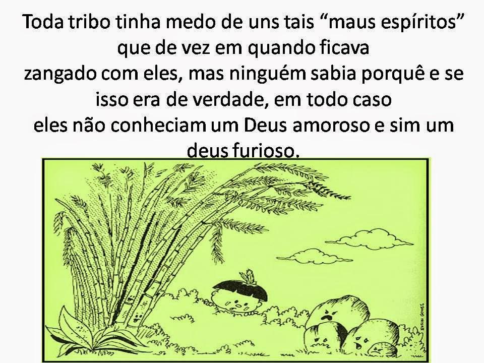História evangelística do índio Yanominho