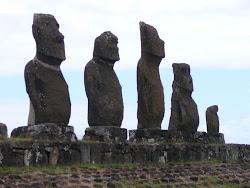 Ahu Tahai Moai Grouping, Easter Island