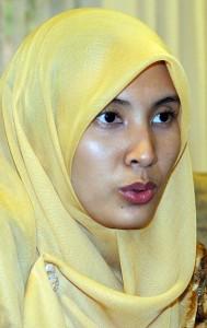 Naib Presiden KEADILAN, Nurul Izzah Anwar.