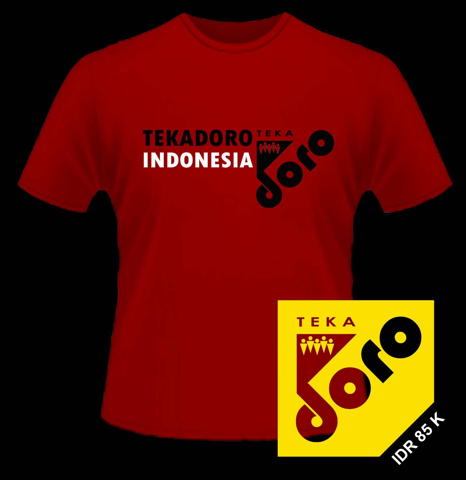 t-shirt TEKADORO