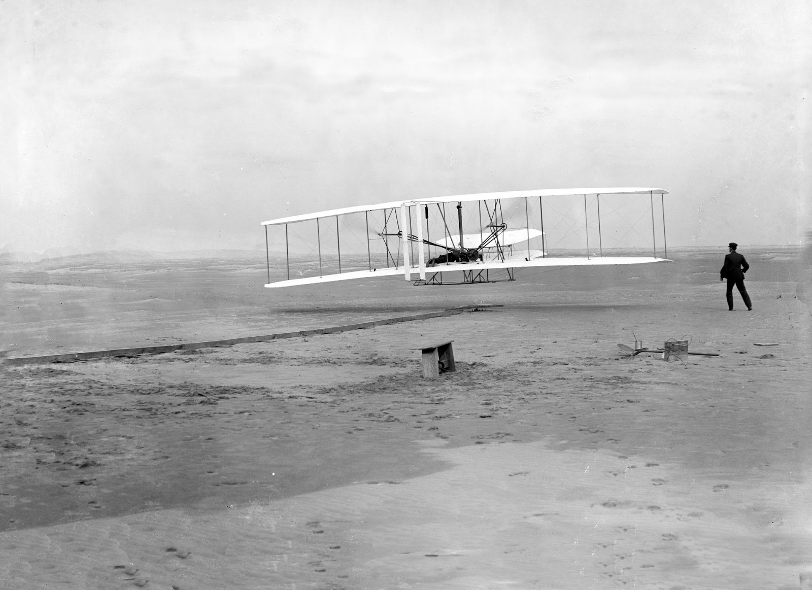 Wright Brothers First flight Kitty Hawk, North Carolina