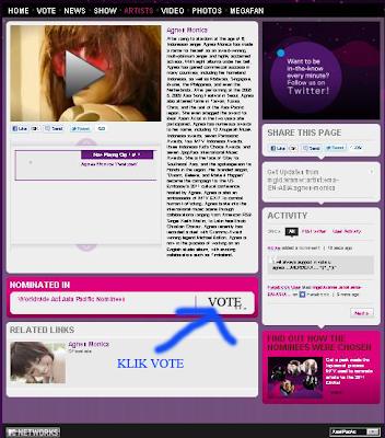 Vote Agnes Monica