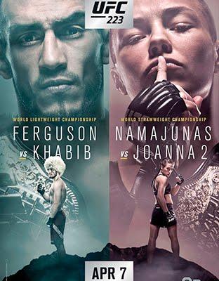 Ver UFC 223 Ferguson vs Khabib En VIVO