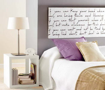 Un toque vintage cabeceros de cama en nuestra decoraci n - Cuadros para cabeceros de cama ...