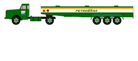 Scania 110 trailer fuel tank 1:50