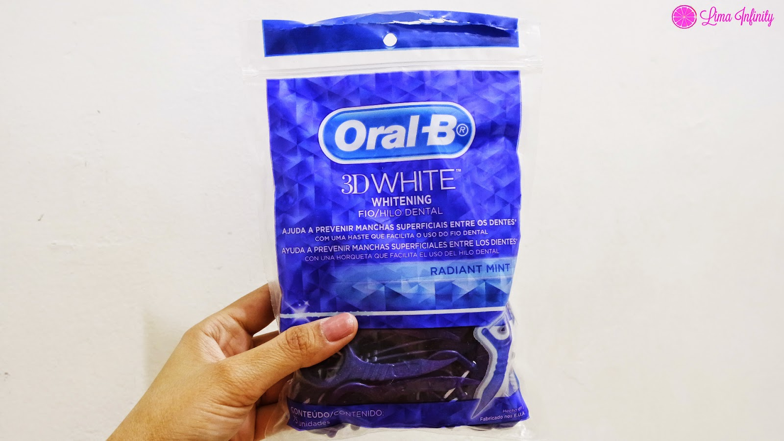 ORAL B - FIO DENTAL - LIMA INFINITY