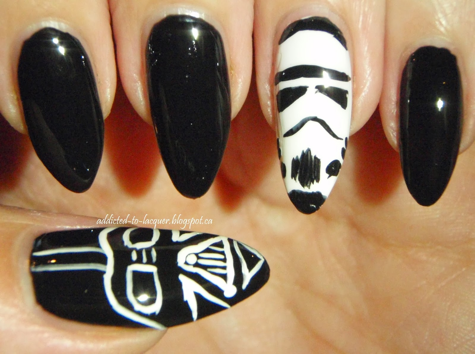 Addicted to Lacquer: Villains: Darth Vader (and bonus Storm Trooper!)
