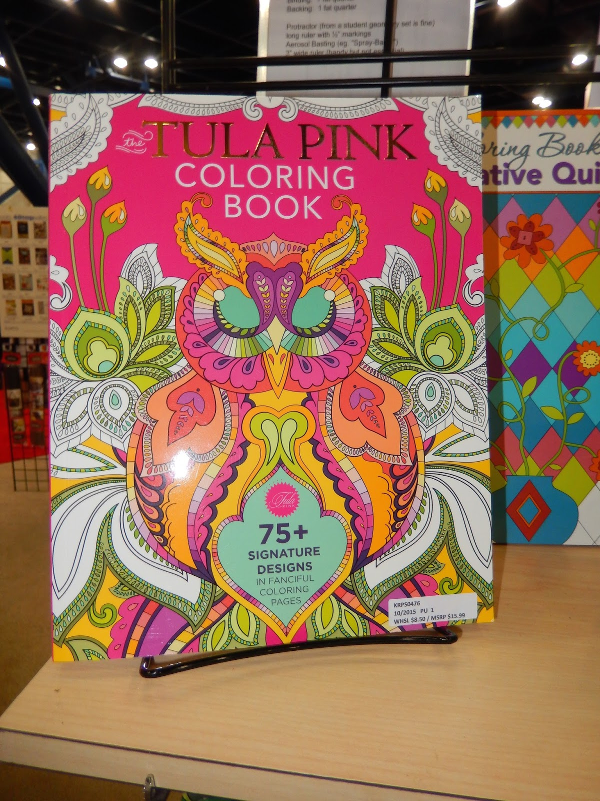 The tula pink coloring book - Fabric Connoisseurs Will Appreciate The Cotton Steel And Tula Pink Coloring Books