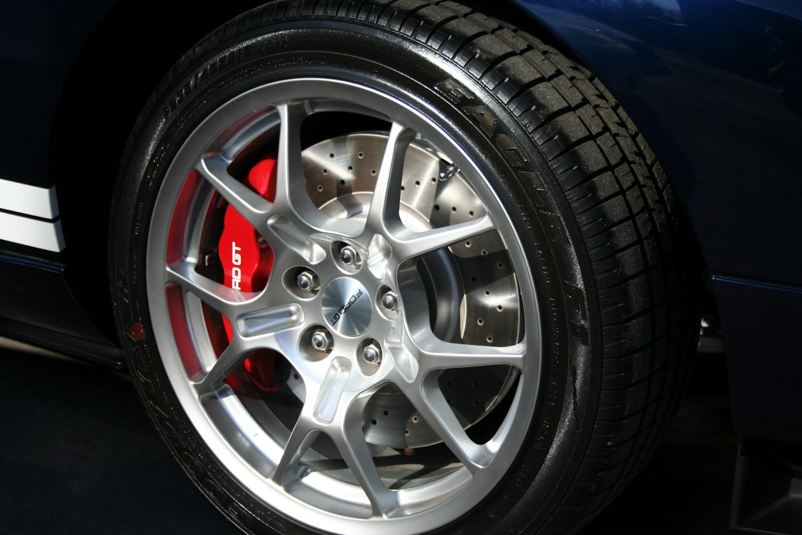 Ford Gt Brakes Wheels Tires Rims