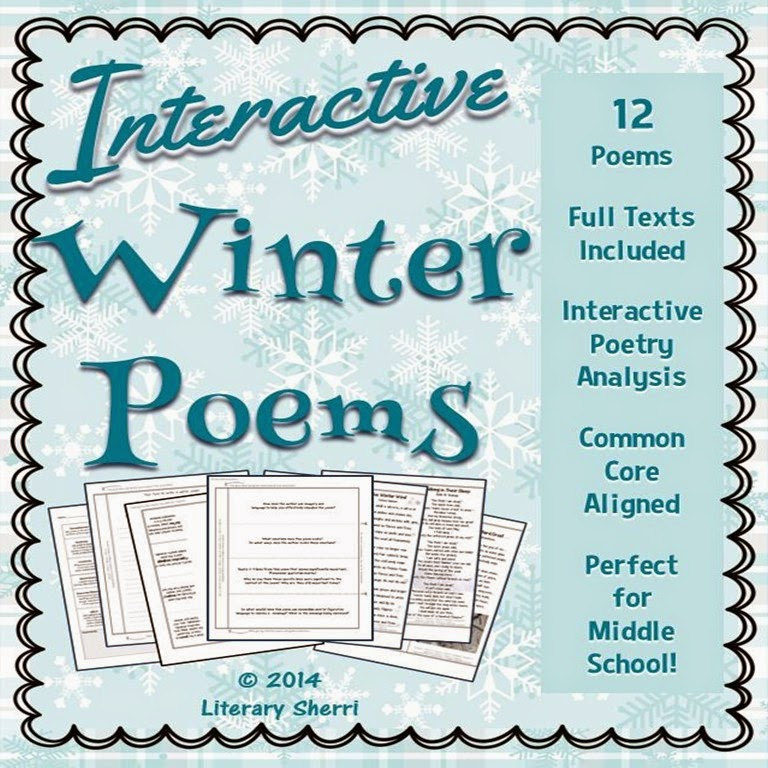http://www.teacherspayteachers.com/Product/Interactive-Poetry-Winter-Poems-Grades-7-8-9-1600159