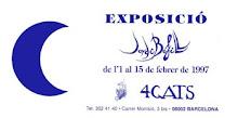 EXPOSICIONES DESTACADAS. 1997.  SALAS DEL RESTAURANTE MODERNISTA 4GATS.