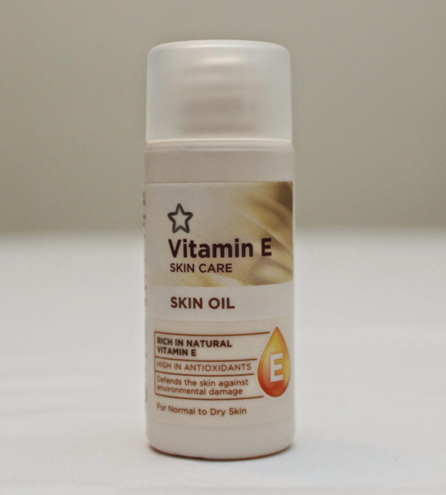 SUPERDRUG VITAMIN E FACE OIL