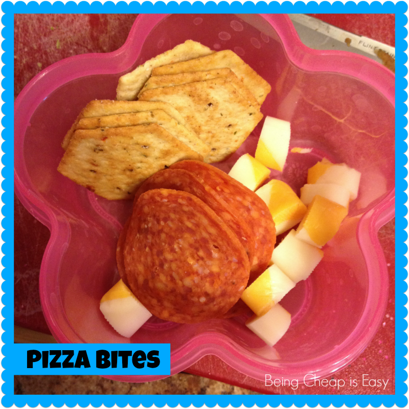 Lunchbox ideas, pepperoni, pizza ideas