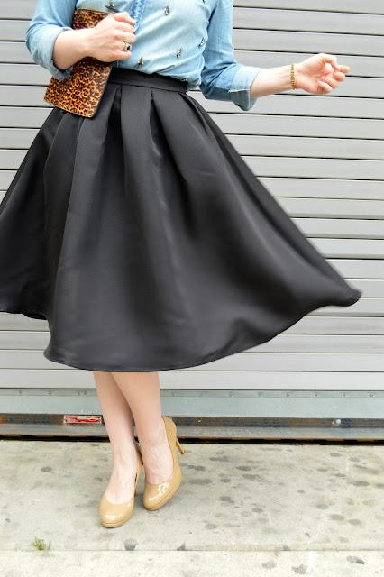 black-full-midi-skirt