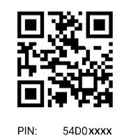 simbol PIN dan Barcode BBM