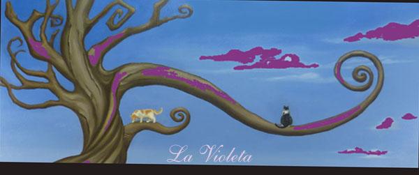 No sé que será de mi en La Violeta...