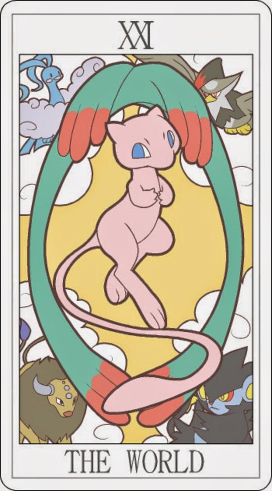 Pokemon Tarot - The World