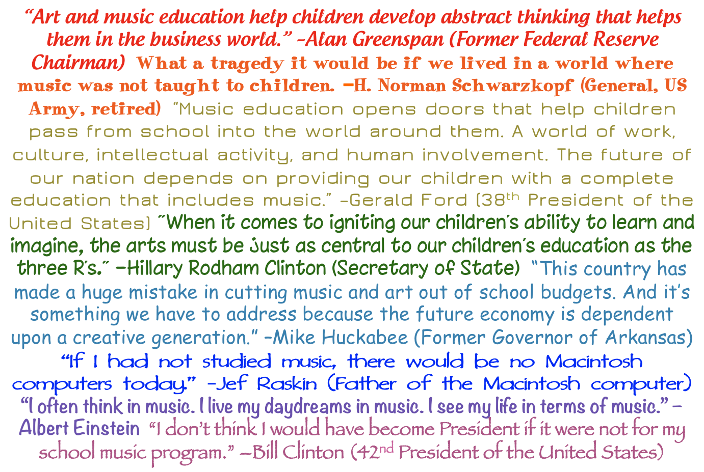 educational quotes applied to music education But what exactly is the difference  education reform educational  montessori pioneered how these ideas could be formalised and applied to childhood.