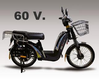 $340.000 Bicicleta Electrica Yustavo mas fuerza 60 voltios