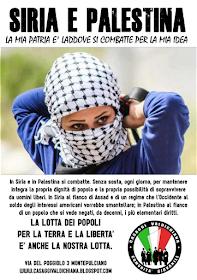 PER LA SIRIA E LA PALESTINA!