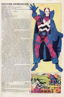 Doctor Demonicus (ficha marvel comics)
