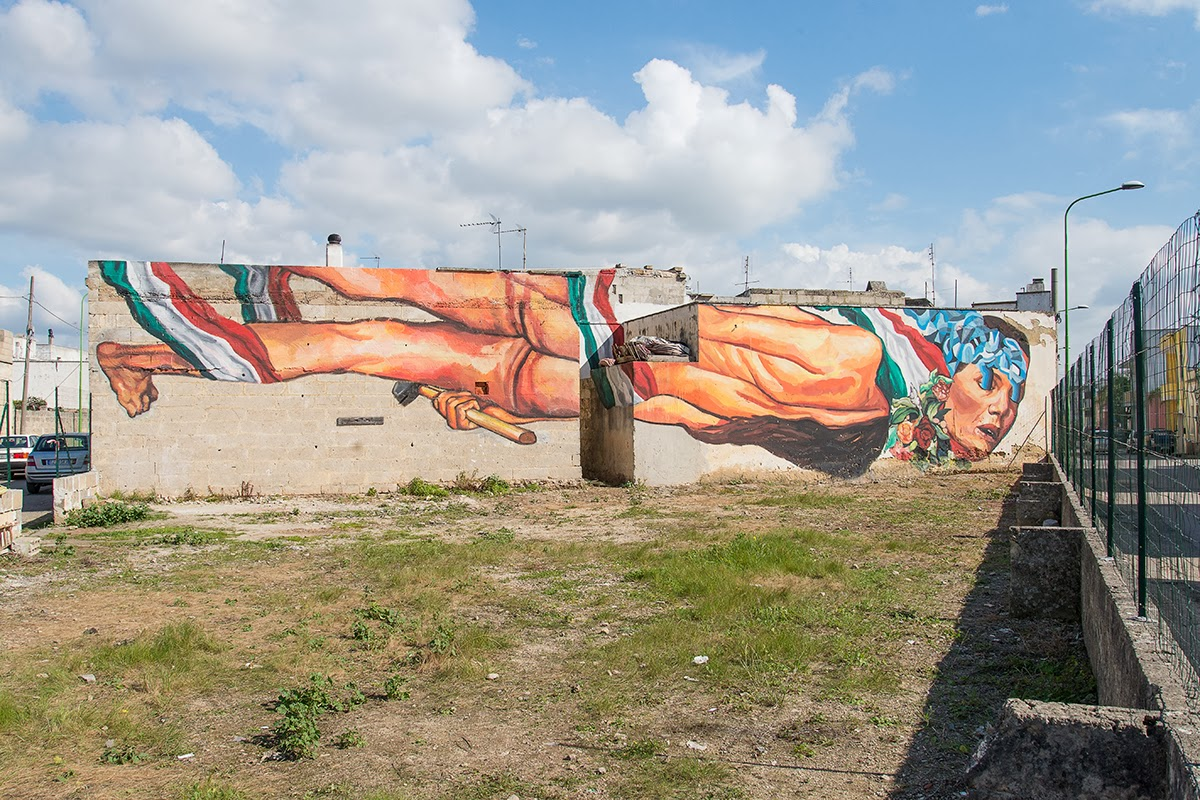 Last seen last month in Rome (Covered), Ever is still in Italy where he just wrapped up this sweet new piece somewhere on the streets of Salento, a city in the south-eastern part of Puglia. 1